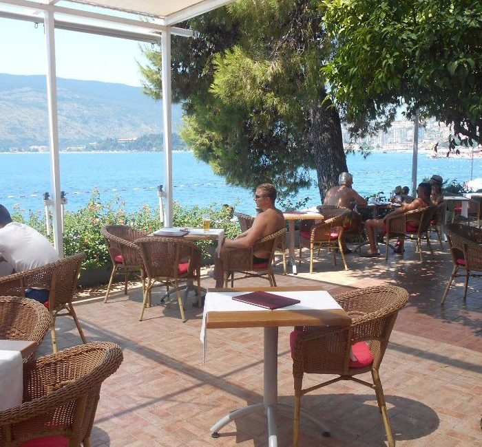 Hunguest Hotel Sun Resort Herceg Novi Terasa